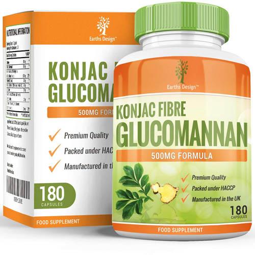 compléments de glucomannane
