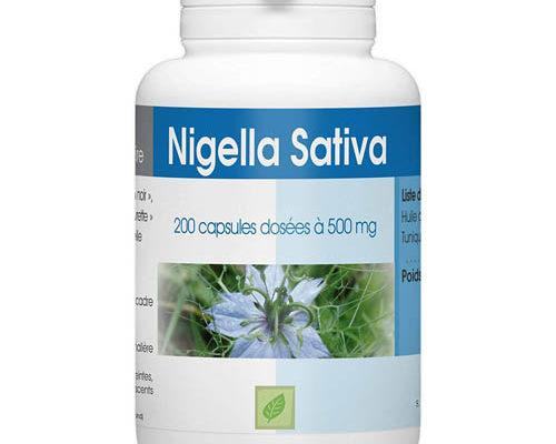 compléments Nigella Sativa