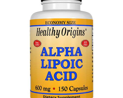 compléments d'acide alpha-lipoïque